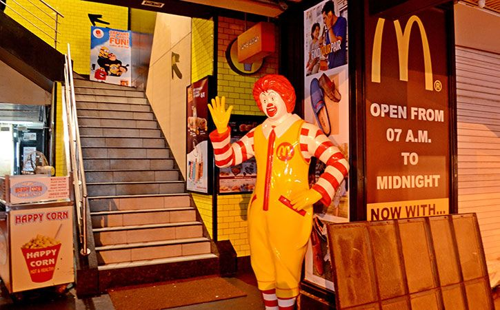 McDonald on Thursday warned its customers that they face potential health hazard