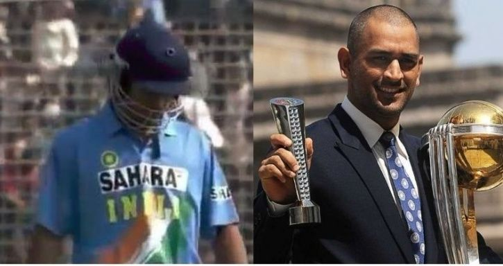 MS Dhoni made his international debut on December 23, 2004