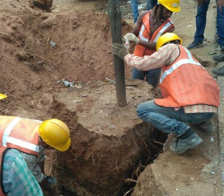 Namma Metro Construction Vijay Nishanth