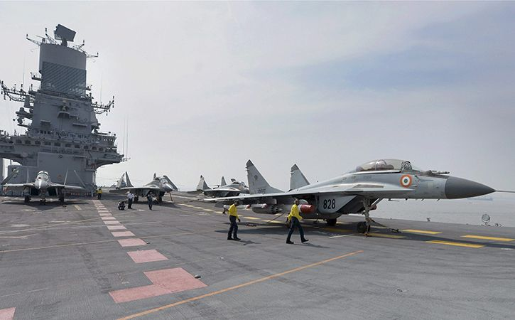 Navy To Double Aircraft Fleet To 500 In Next Decade