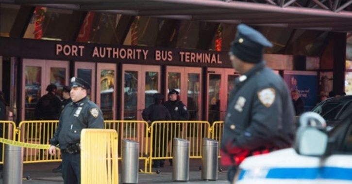 One Held After Subway Blast Near Times Square In New York City blast