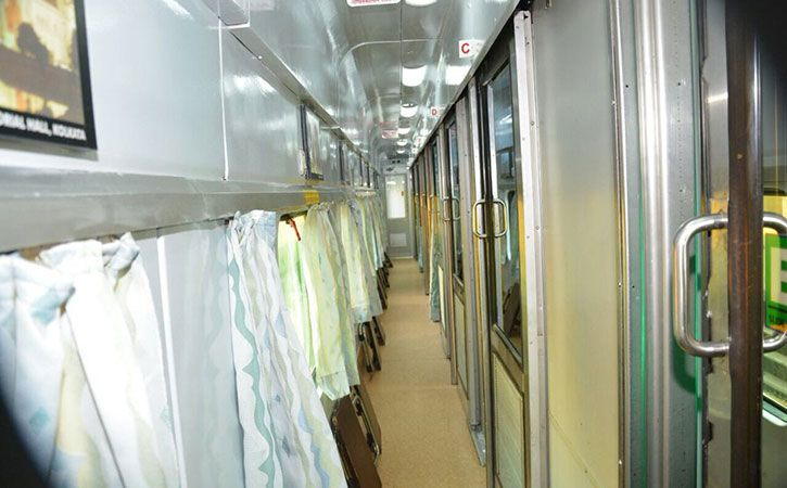 Railways Unveils New Improved Rajdhani Coaches
