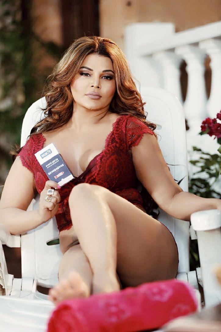 Rakhi Sawant Opposes Condom Ad Ban