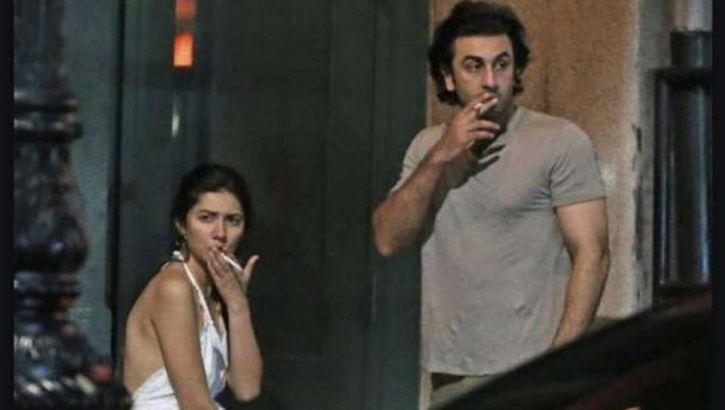 Ranbir Mahira smoking