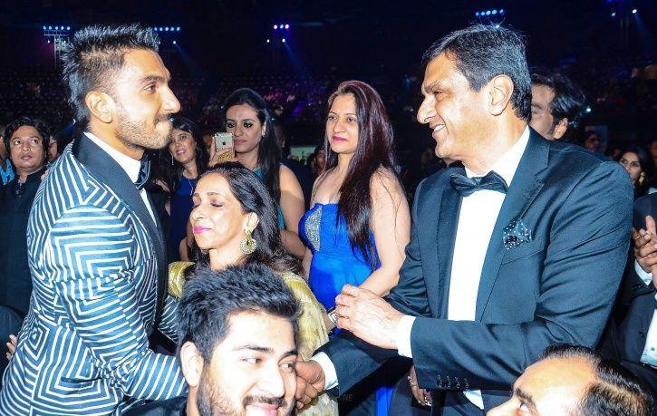 Ranveer and Prakash Padukone