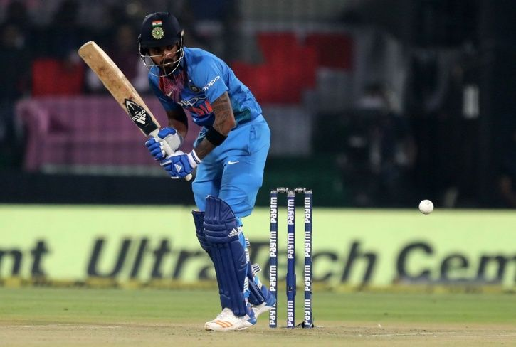 Rohit Sharma and KL Rahul put on 165 for the first wicket