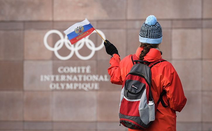 Russia banned from the 2018 winter olympics