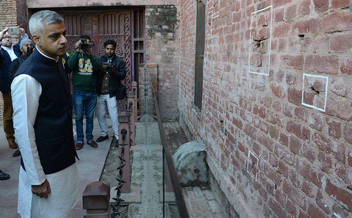 Sadiq Khan Formally Apologise For Jallianwala