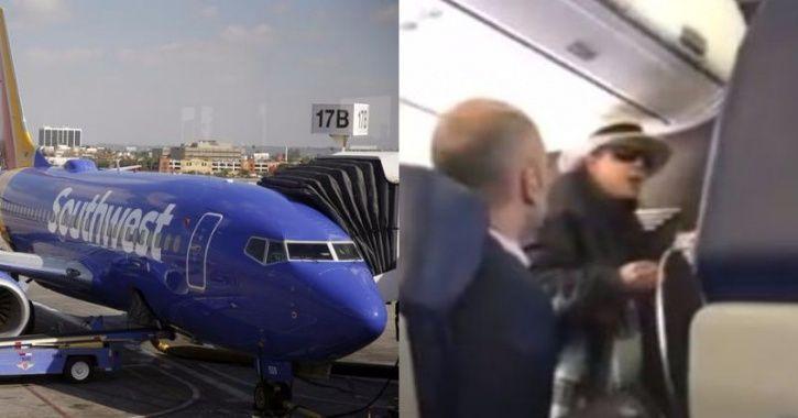 Southwest passenger