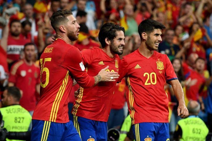 Spain football world cup