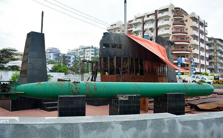 Submarine Kalvari Commissioned By PM Modi