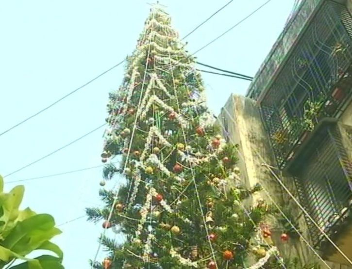 Tallest Christmas tree, Mumbai