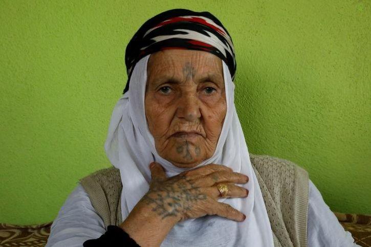 Tattooed women of Turkey