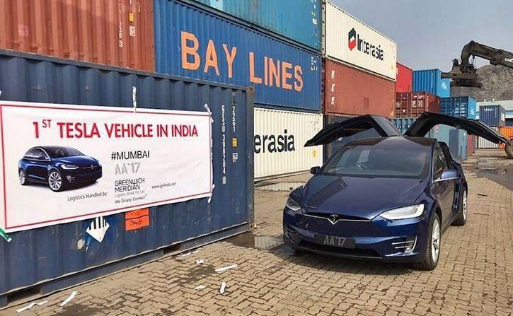 Tesla Model X in India