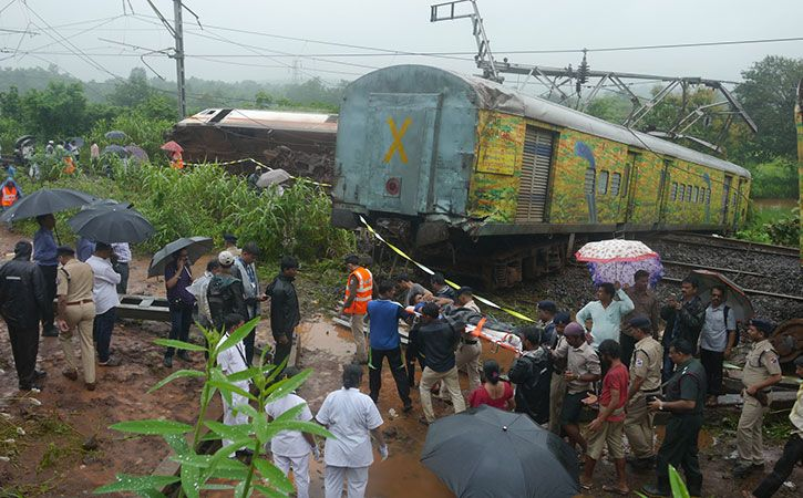 Train Accidents Down By 42 Per Cent In 2017