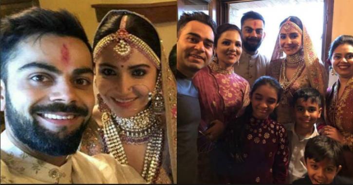Virat Anushka Wedding Pictures