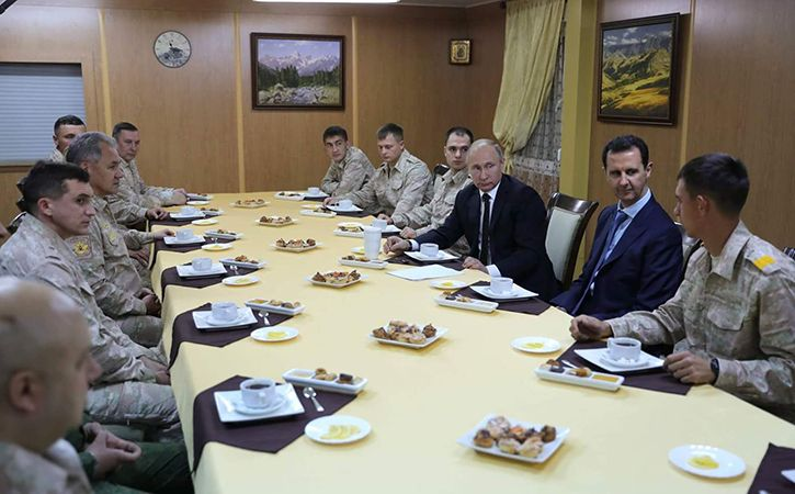 Vladimir Putin In Syria Says Mission Accomplished