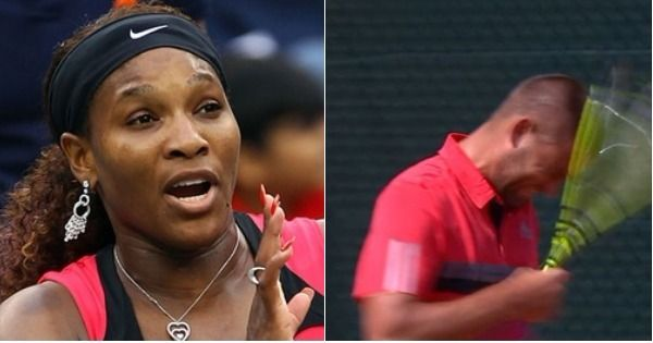 When tennis players completely lose it