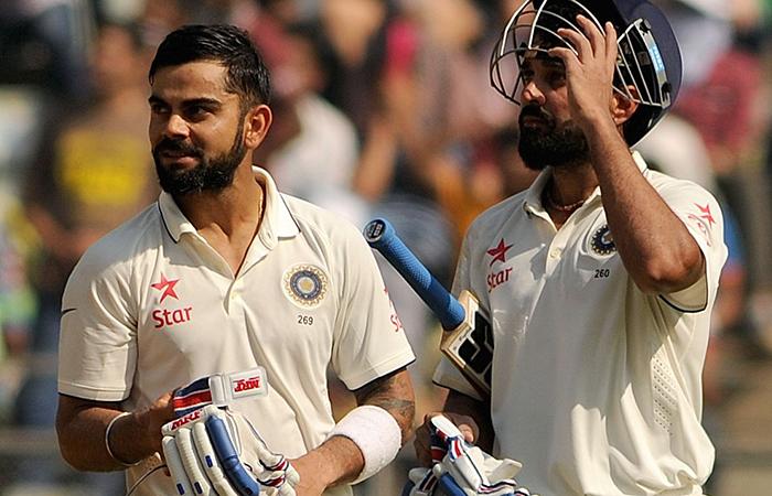 Kohli and Murali Vijay