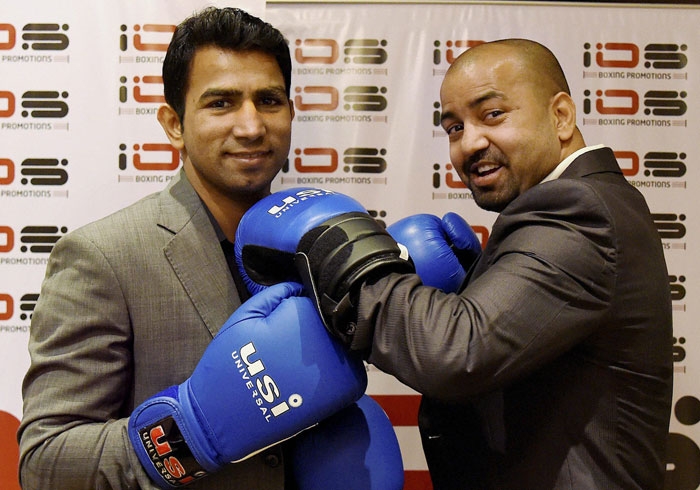 Boxers Akhil Kumar and Jitender Kumar