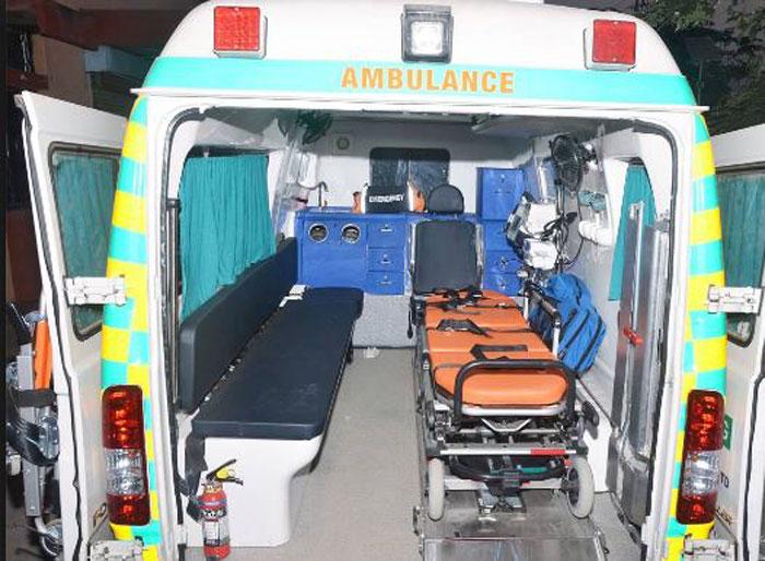 Govt ambulance