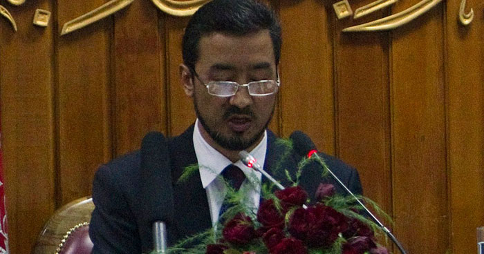 Afghanistan Assembly Abdul Raouf Ibrahimi
