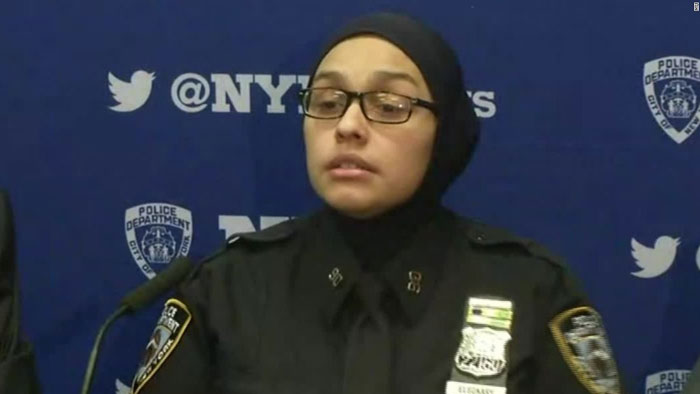 Muslim Cop Harassed