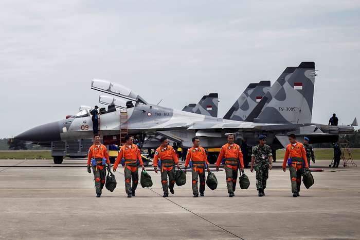 first air combat exercise