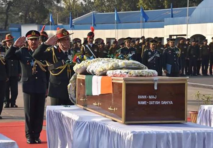 Army Major Satish Dahiya