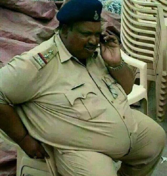 Police inspector Daulat Ram Jogawat