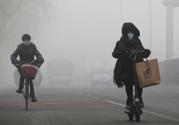 India And China pollution