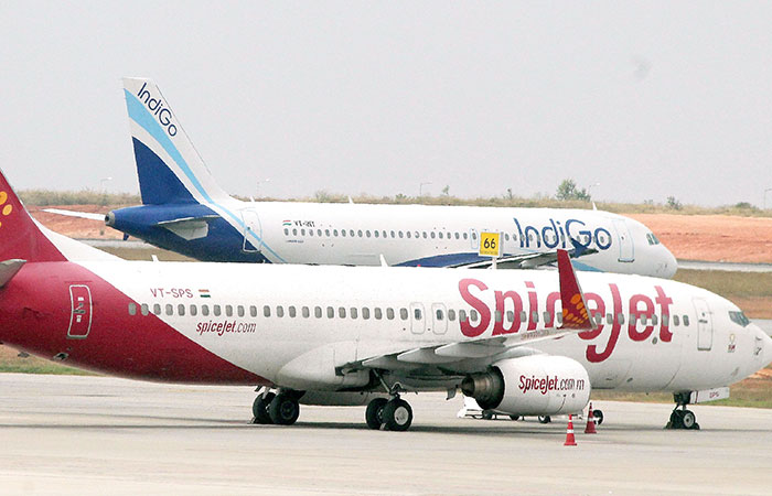 Indigo and Spicejet Airlines
