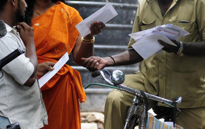 Postman Delivery Challan