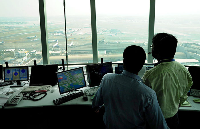 Control Room At Airport