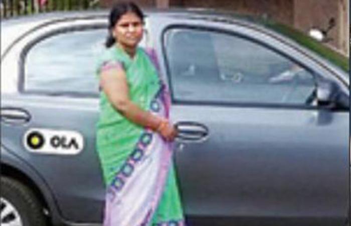 Jayalakshmi Babu a Cab Driver