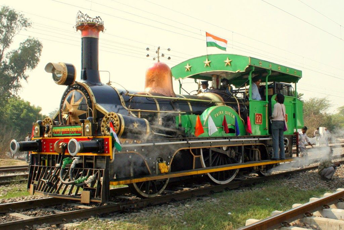 ldest   engine gathers fresh steam