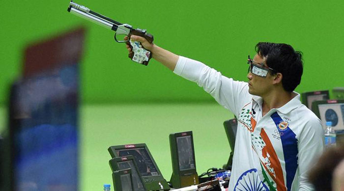 Shooter Jitu Rai  AP