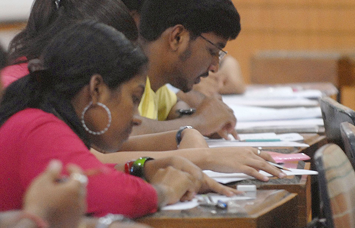Students Giving Exam