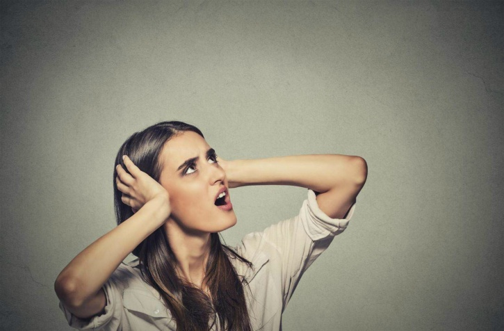 Misophonia due to anger and anxiety