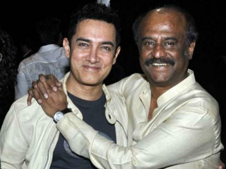 Aamir Khan and Rajinikanth