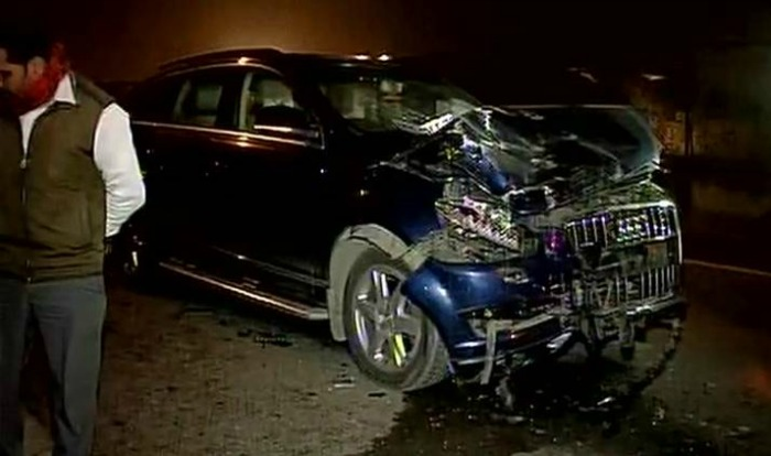 Ghaziabad Audi Accident