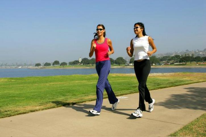 30-minute brisk walk