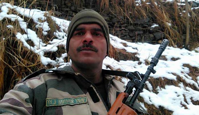 BSF Jawan Tej Bahadur Yadav
