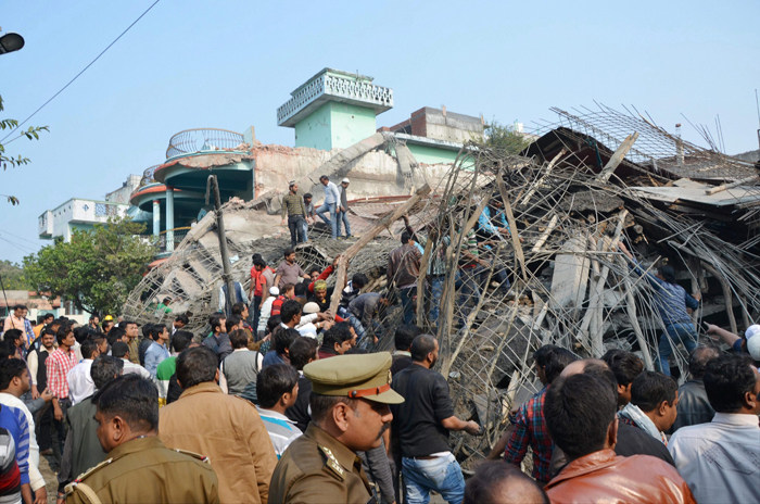 Kanpur building collapse