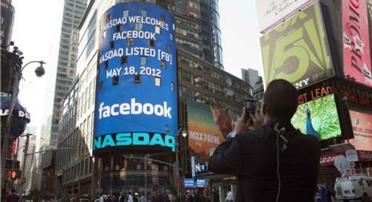 Facebook IPO in 2012