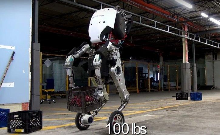 Boston Dynamics' Frightening New Robot 'Handle' Is A Multitasking Acrobat