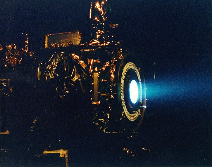 NASA ion thruster