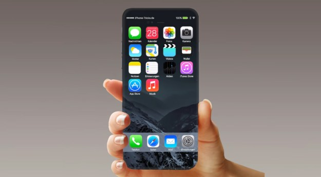 iPhone 8 or X concept art