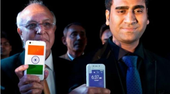 Mohit Goel Freedom 251 Phone Launch