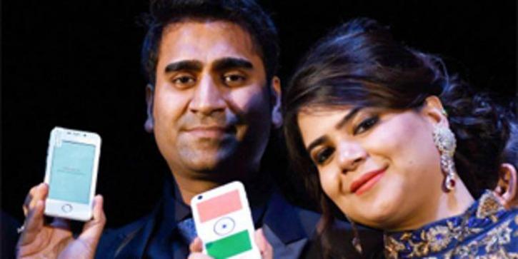 Mohit Goel with Wife